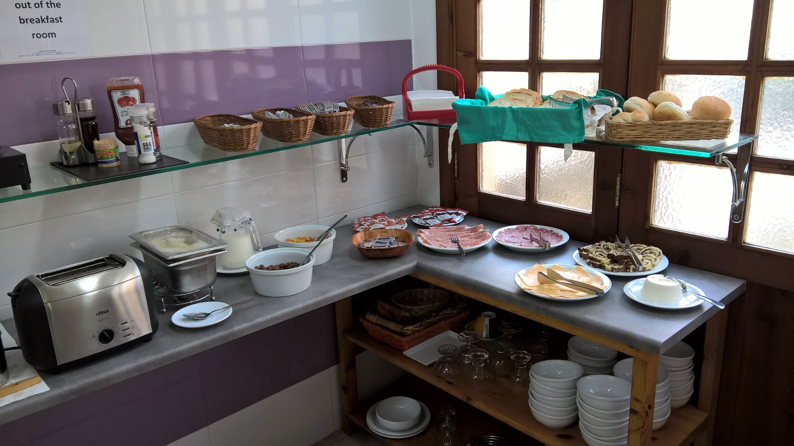 GSE Adult English Courses Malta Residence Breakfast room - choice for breakfast (1)