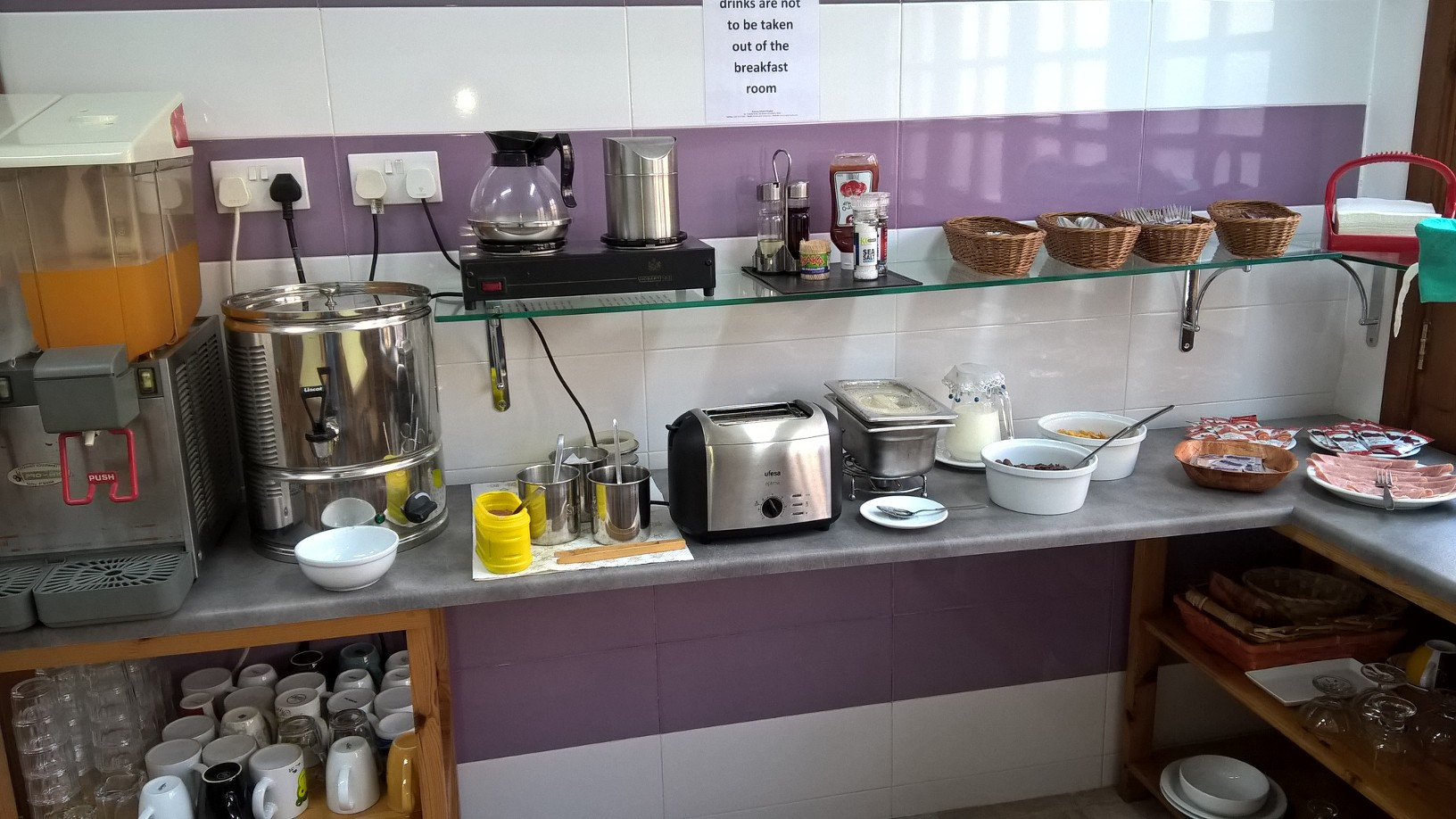 GSE Malta Adult Residence Breakfast room - choice for breakfast (2)