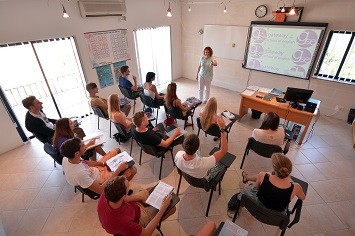 GSE Malta Classroom with interactive whiteboard - website