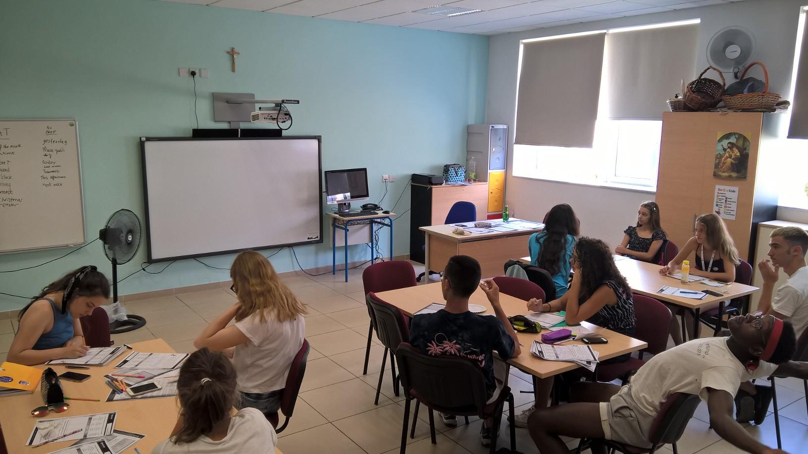 GSE Malta English courses for juniors Junior Programmes 2018 San Gwann School 10