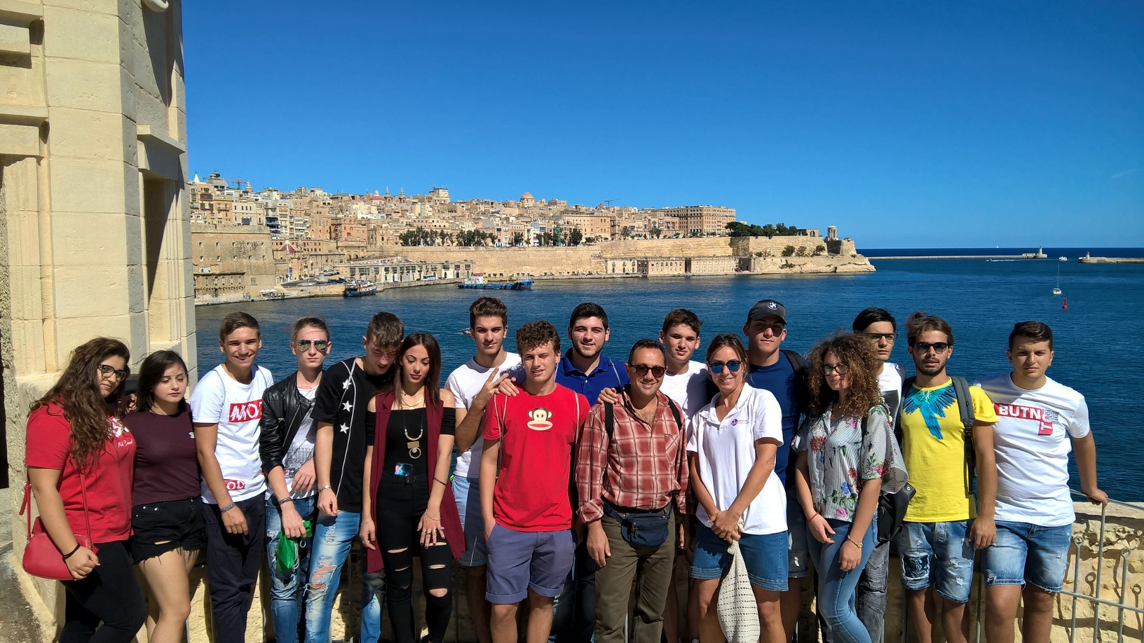 Junior ESL English teen programmes in Malta in autumn & winter
