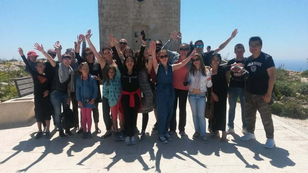 Easter learning English in Malta