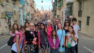 Easter learning English in Malta with Gateway School of Engish