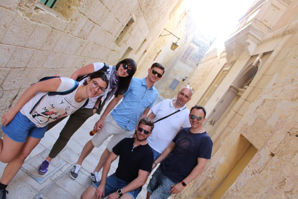 ESL Malta students learning English in Malta. English language schools Malta.
