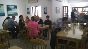 GSE Residence Canteen lunch breakfast English speaking together meet people make friends