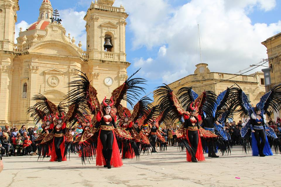 Carnival in Malta while studying English in Malta at an English Language School