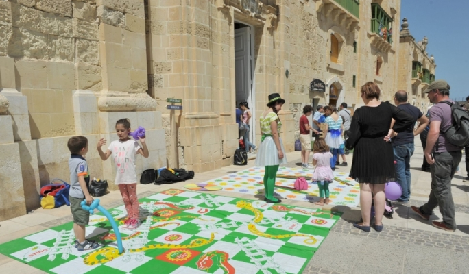 Valletta 2018 Colour-fest English School in Malta