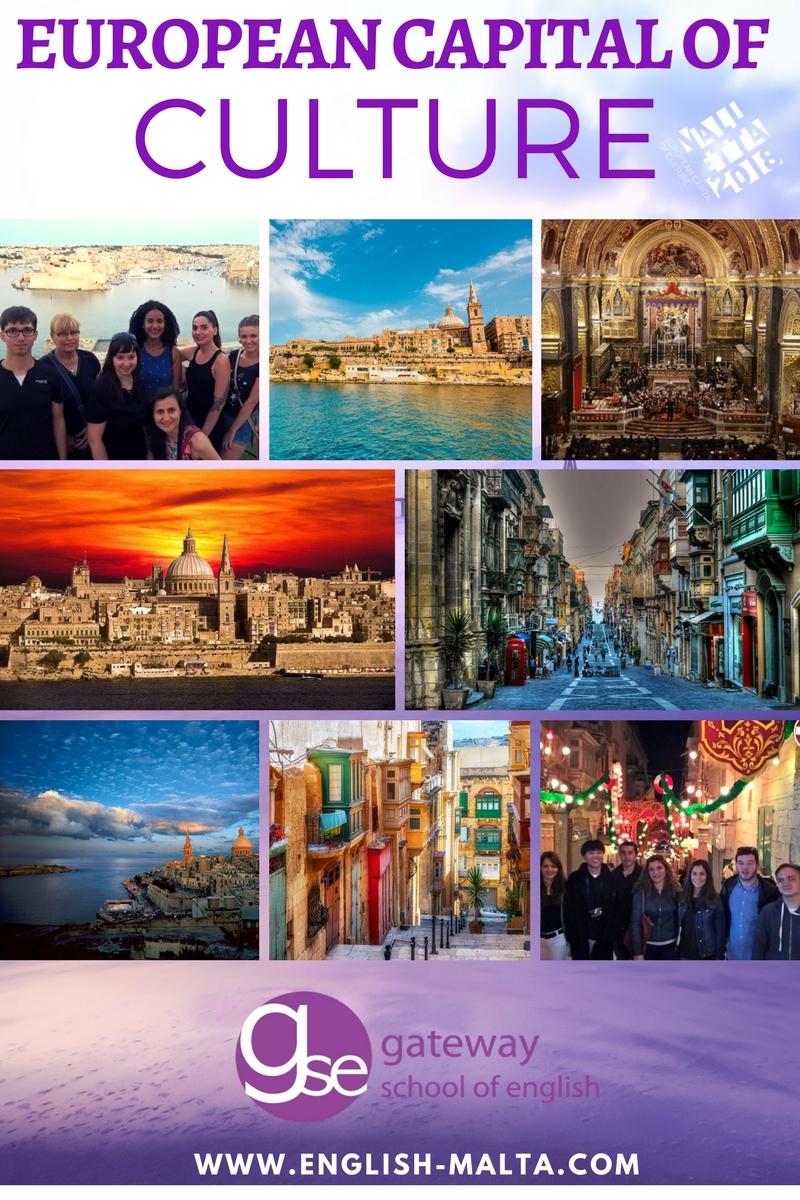 Valletta 2018 English School Malta GSE Learning English in Malta