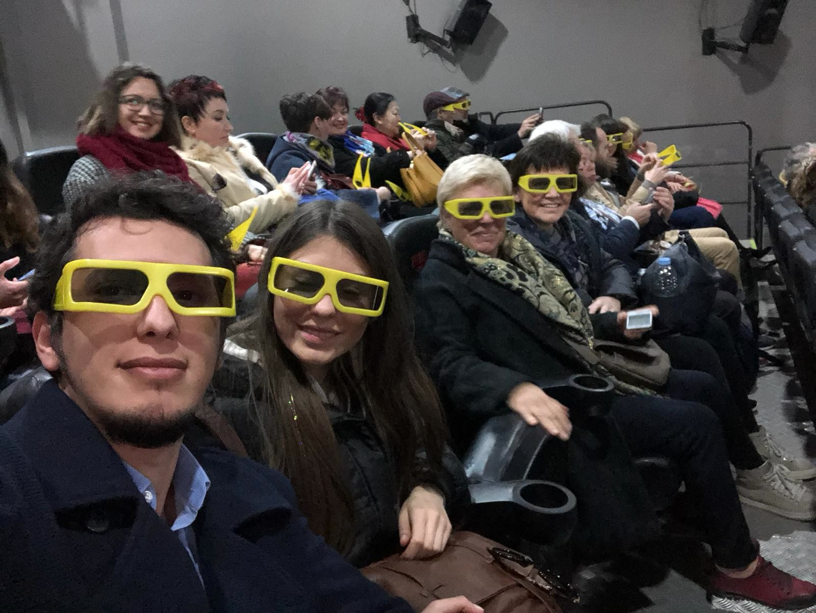 GSE Malta FAM Trip 2018 - Agents at the Malta 5D in Valletta
