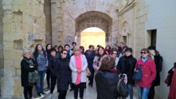 Gateway School of English FAM Trip 2018 - Agents touring Fort St Angelo