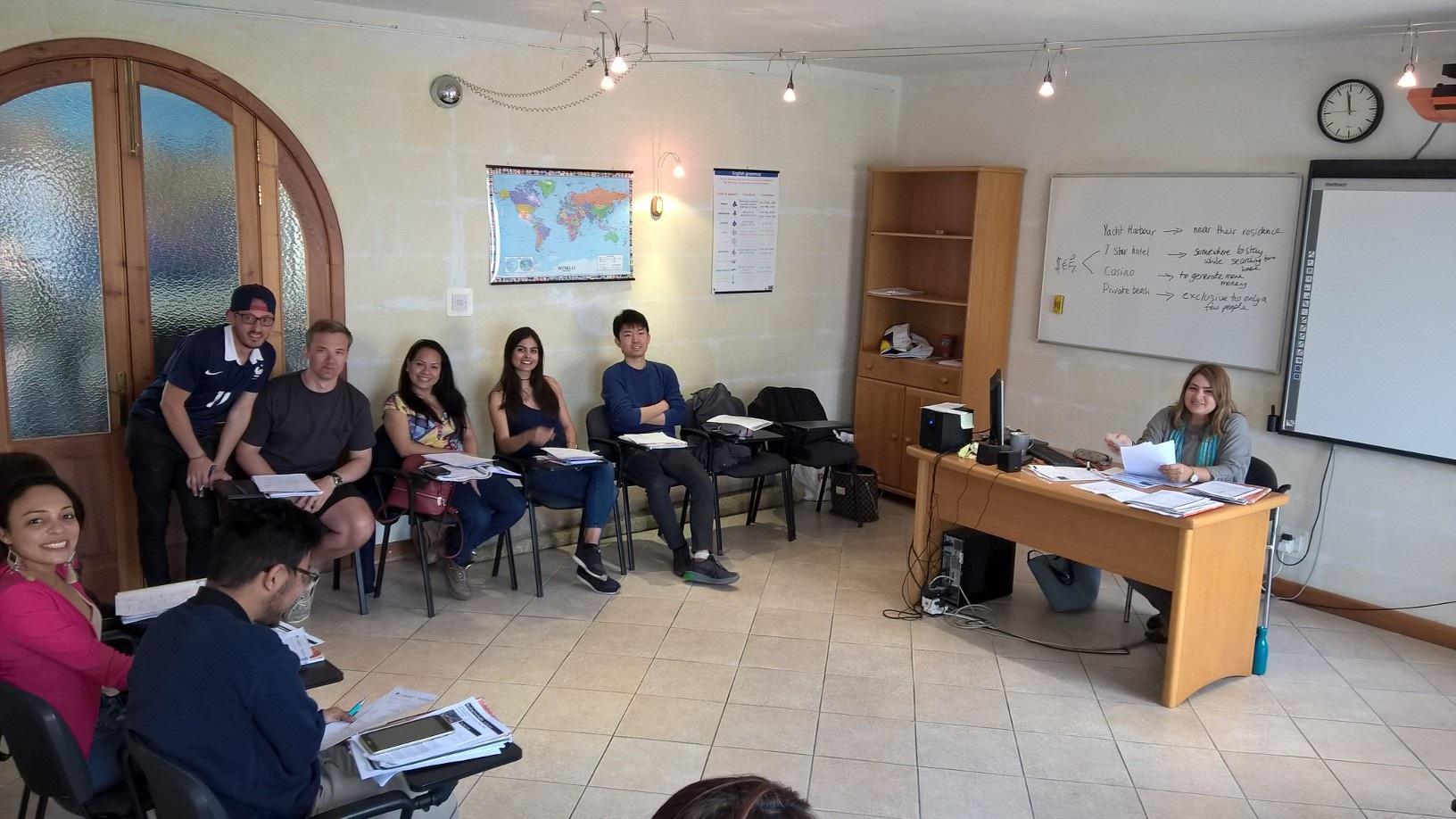 Gateway School of English GSE Malta kurzy obecné angličtiny malta a obchodní angličtina kurzy angličtiny lekce malta