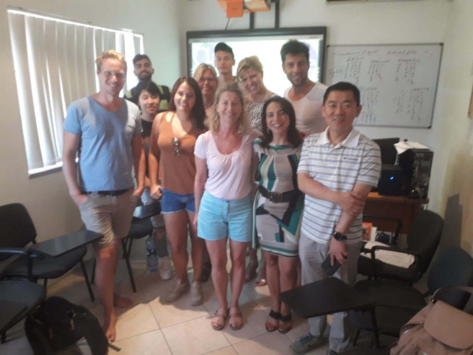 GSE Gateway School of English International Adult Students learning English vacanza studio sprachreisen sejours linguistiques intercambio Malta