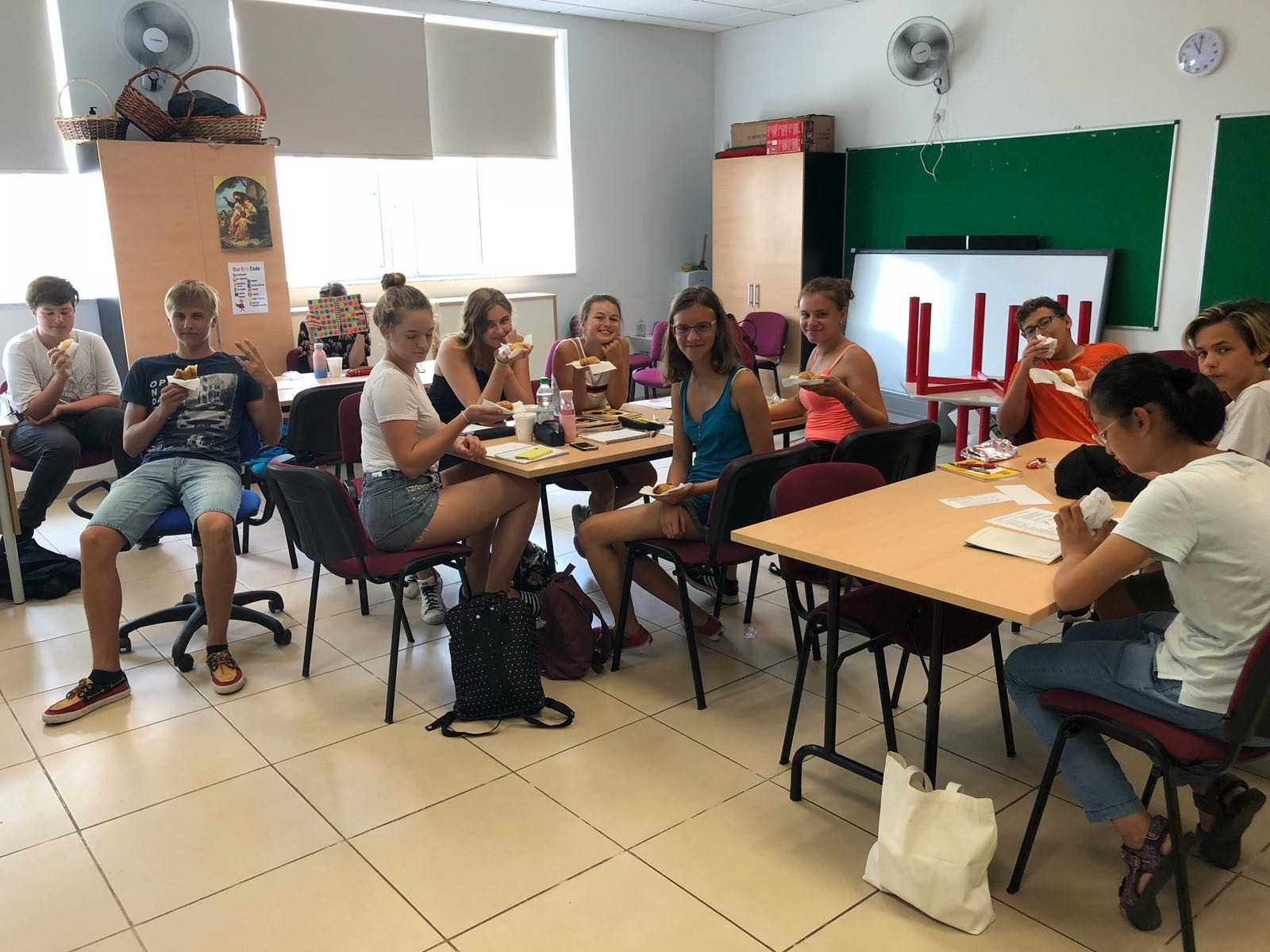 GSE Junior English Programmes Malta Teenagers at Gateway School of English Junior Centre San Gwann