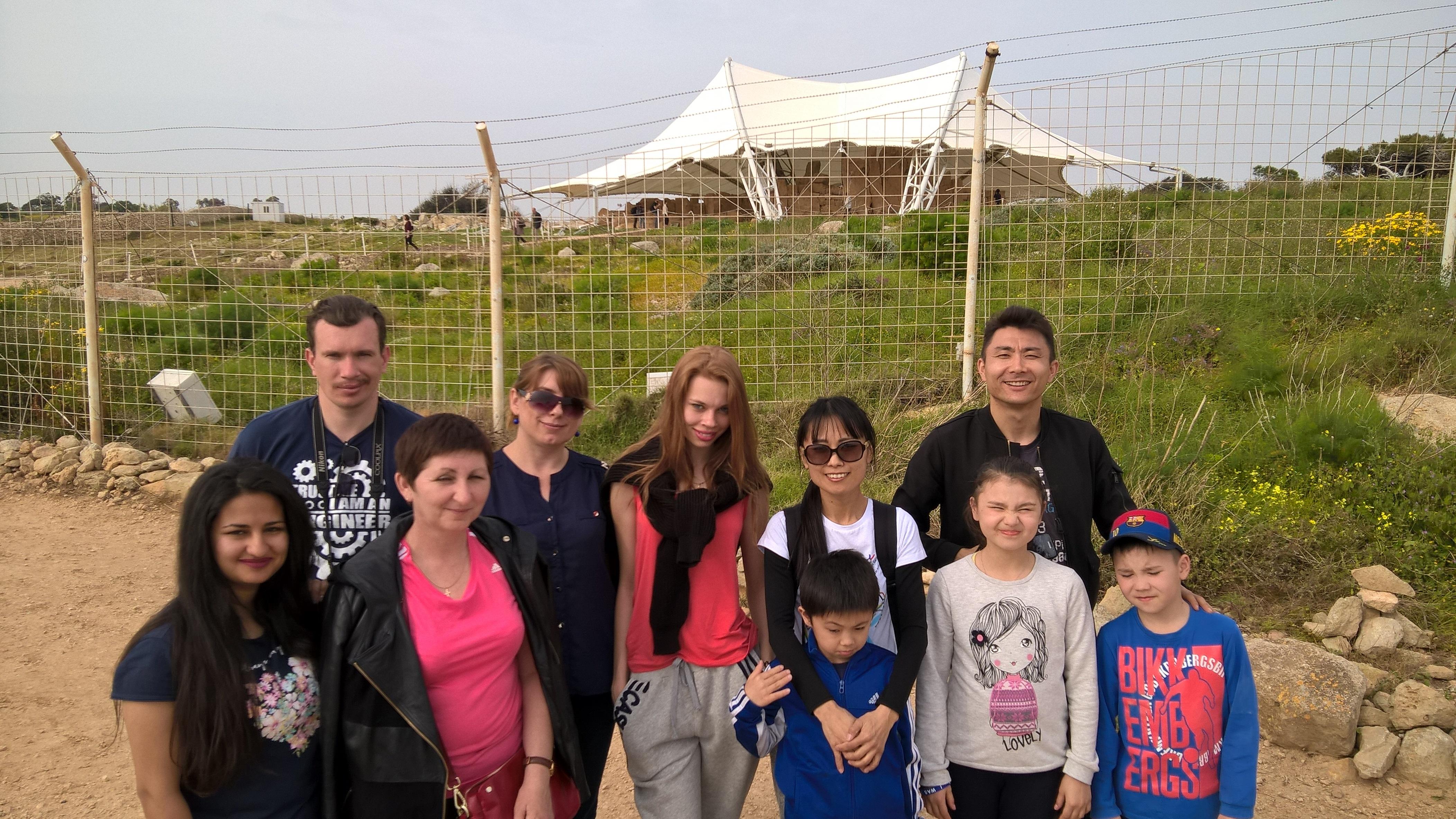 GSE Malta Dil Okulu Yurt disi egitimi Ebeveyn ve Cocuk Aile Programi ogrencilerimizle