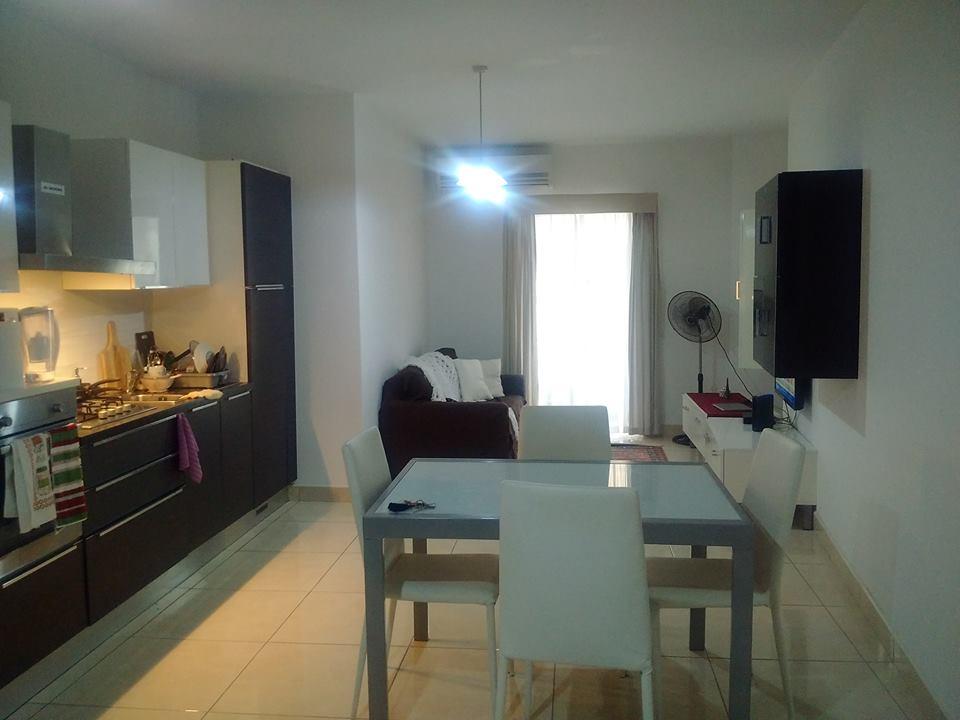 GSE Malta Ingilizce kursu dil okulu apart dairesi mutfagi