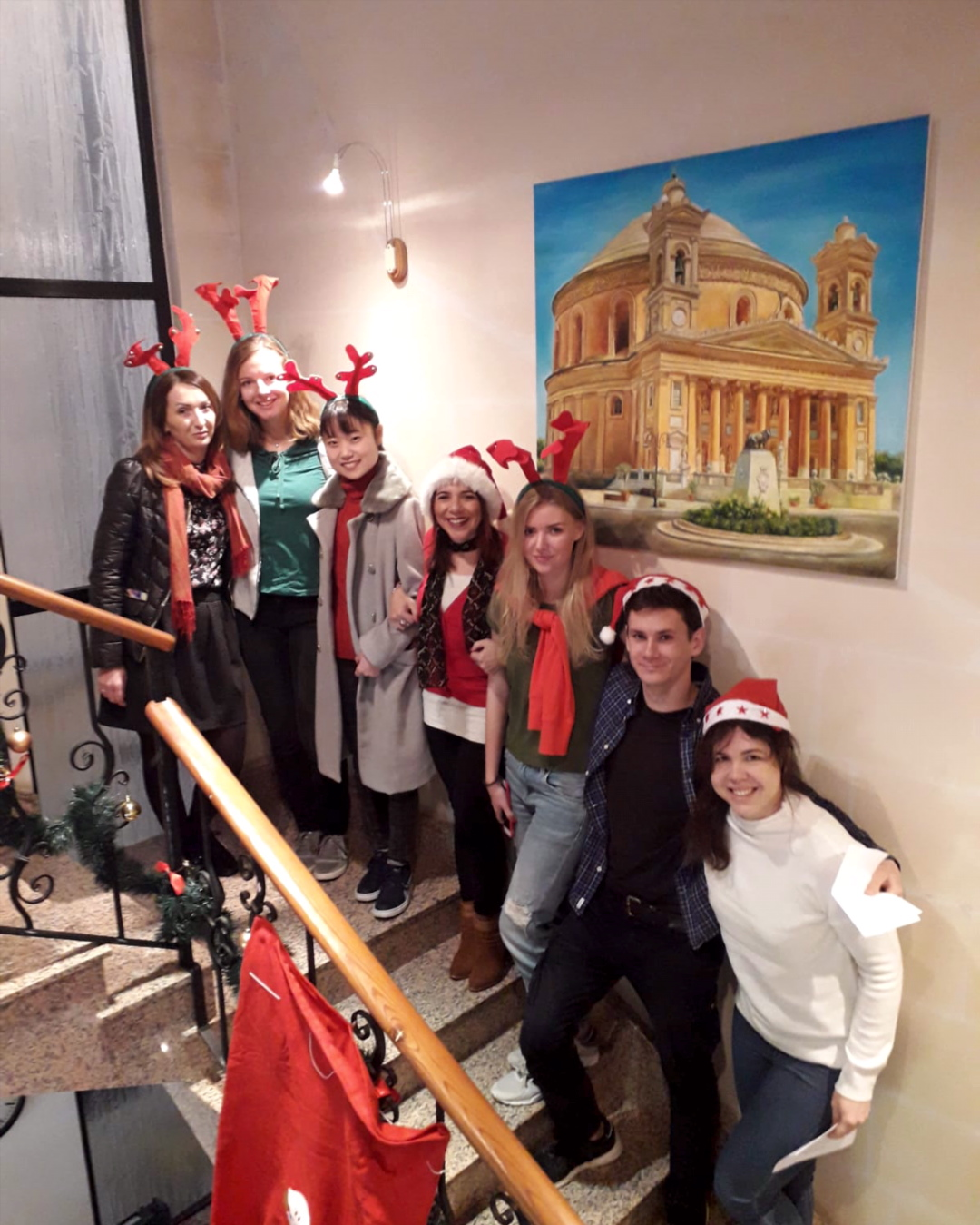 Gateway School of English GSE Christmas Video 2018 - the best English language school to study English in Malta and take an English course in Christmas - Weihnachten Navidad Noel Natale Natal