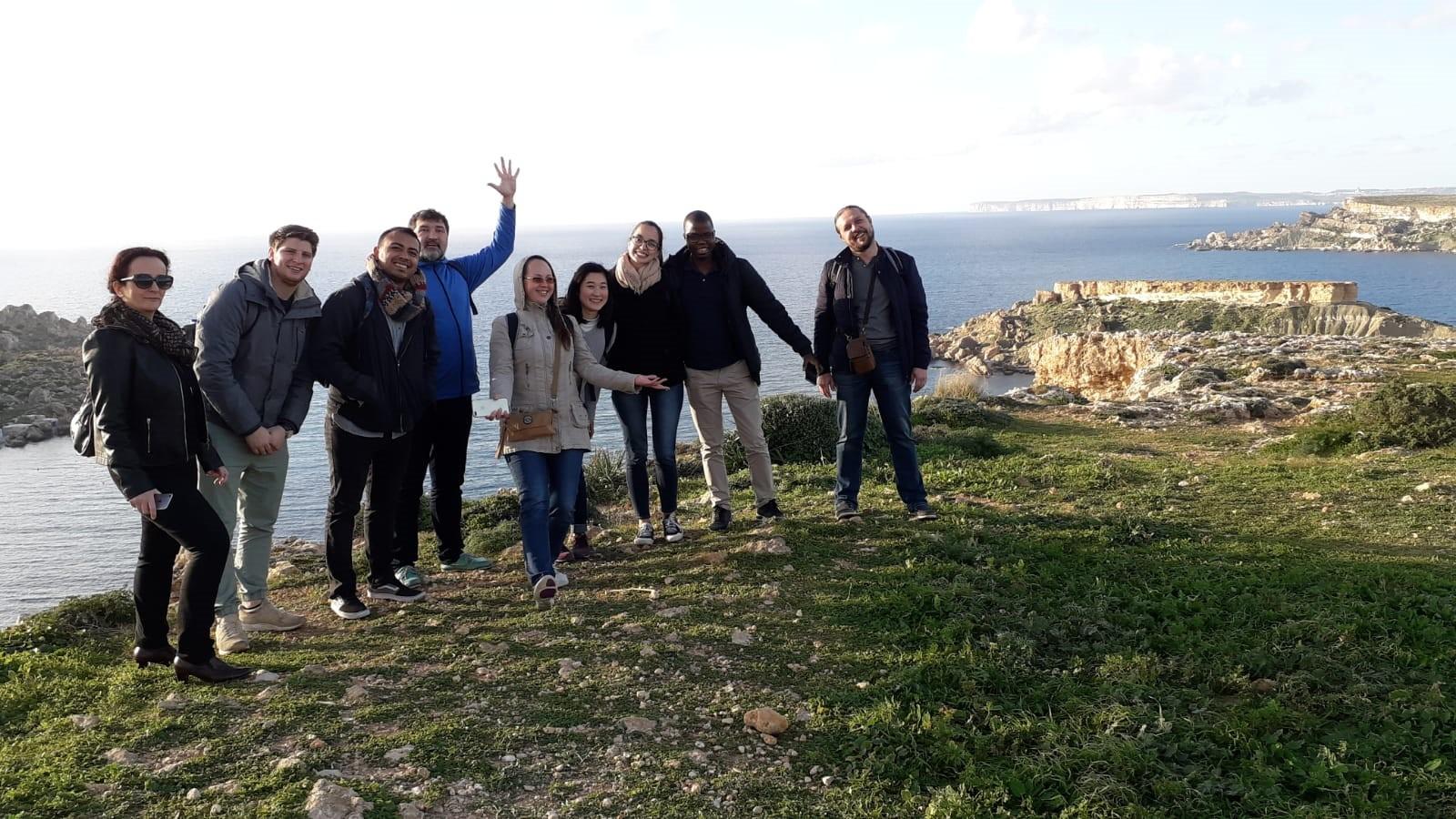 Gateway School of English GSE Malta countryside walks 冬に英語を学ぶ, студирати енглески на зими, 冬天学英语, télen tanulni angolul, học tiếng anh vào mùa đông