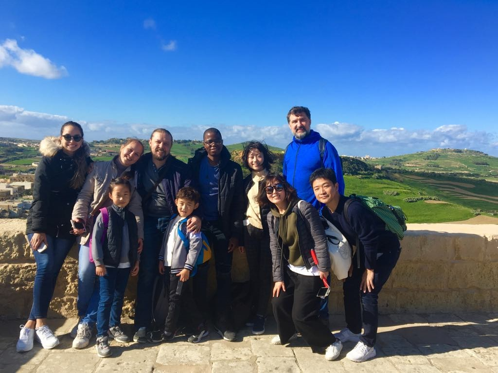 Gateway School of English GSE Students in Gozo in December 몰타에서 영어 공부 studirati engleski jezik u malti zimi