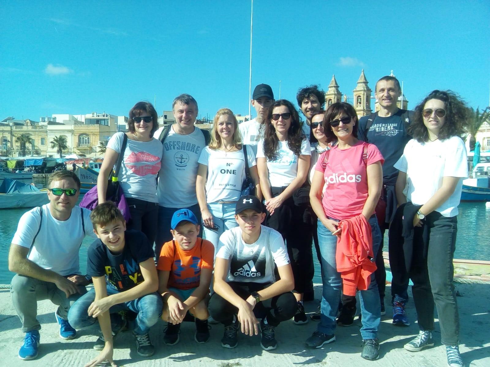 Gateway School of English GSE английский на солнечной Мальте- семейные курсы