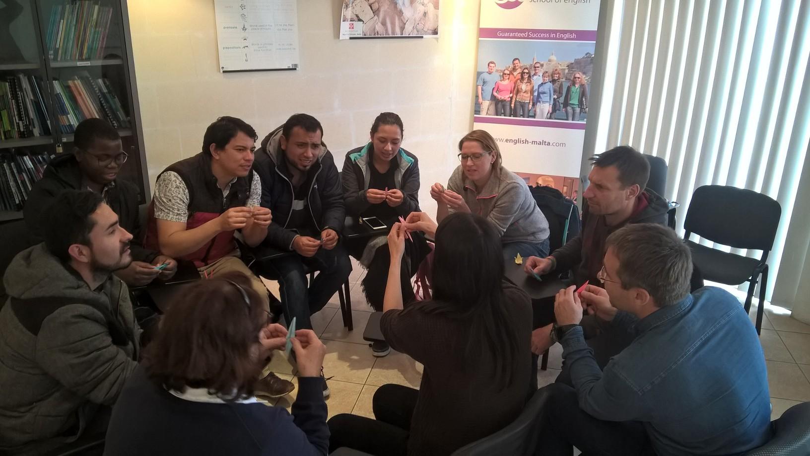 Gateway School of English GSE Malta уроки разговорного английского- бесплатно в Декабре, Январе и Феврале