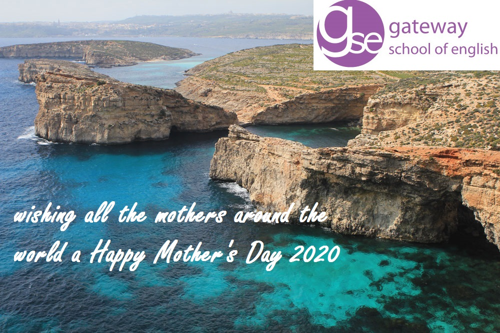 Gateway School of English GSE Malta Happy Mother's Day 2020