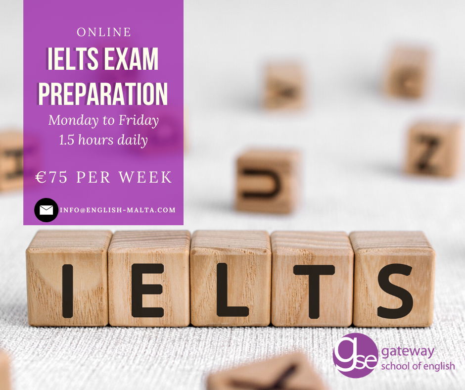 IELTS Online English Courses GSE Malta