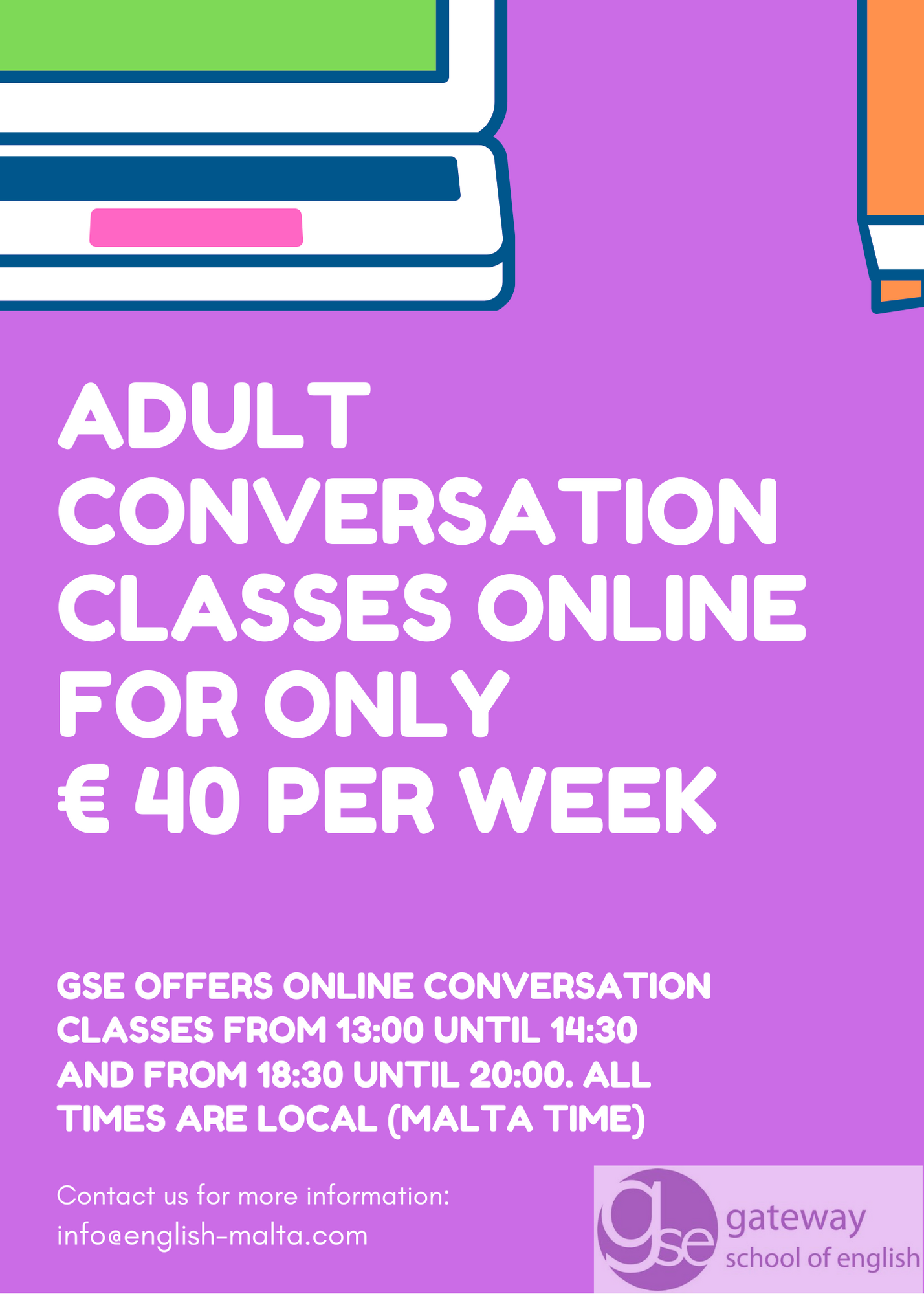 Online English Conversation Classes Courses Gateway School of English GSE
