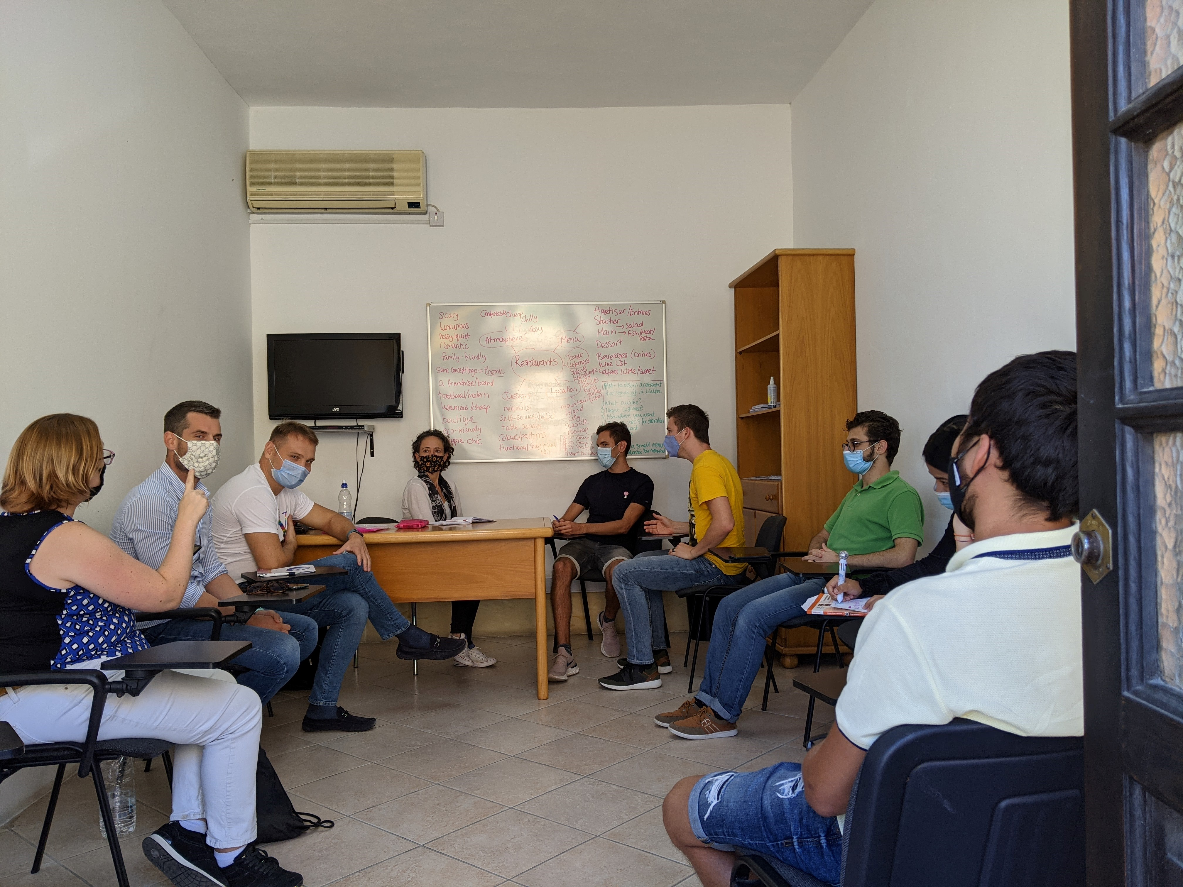 Free English Conversation classes every year between October and March with GSE Malta (1)