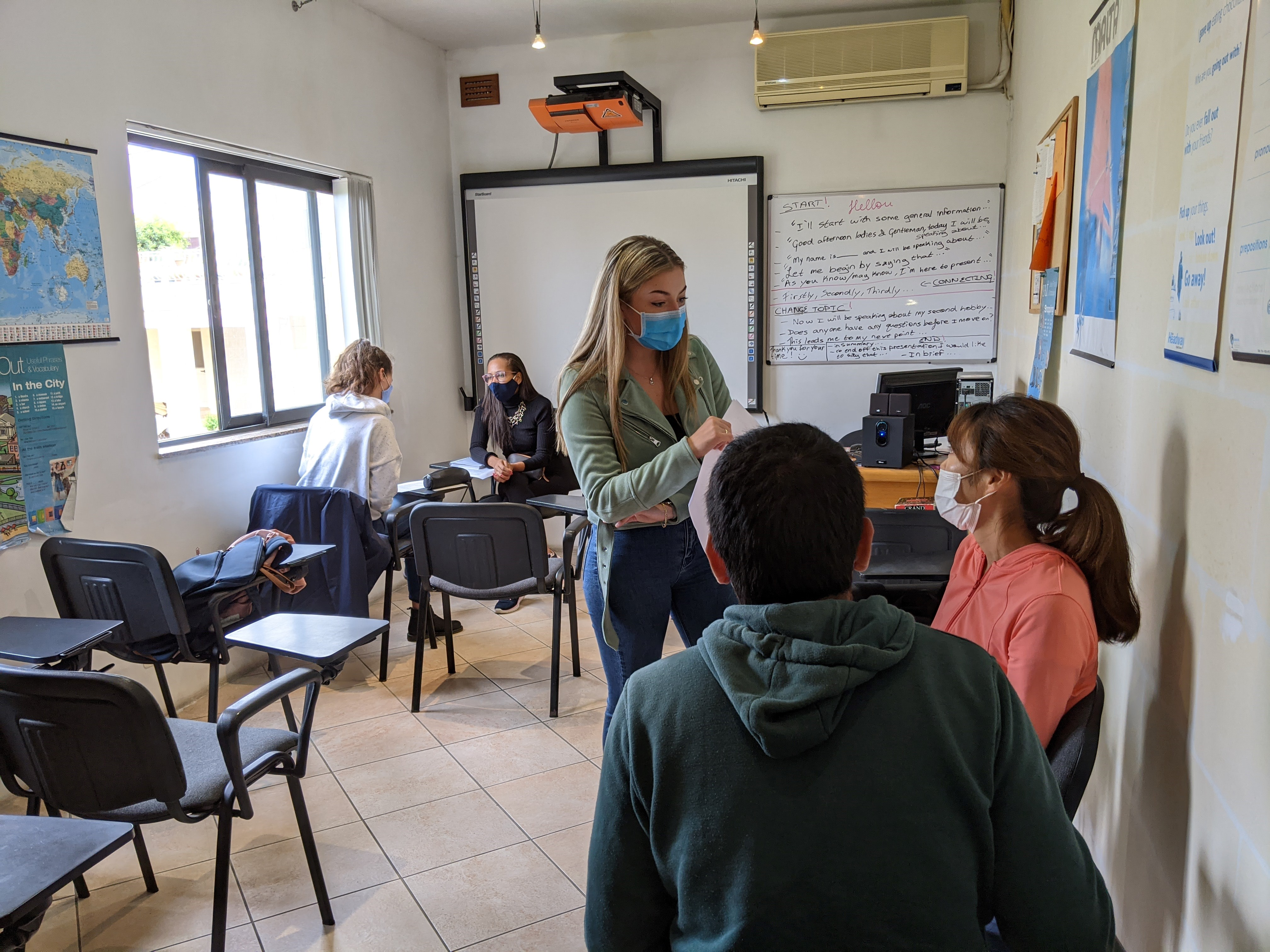 Free English Conversation classes every year between October and March with GSE Malta