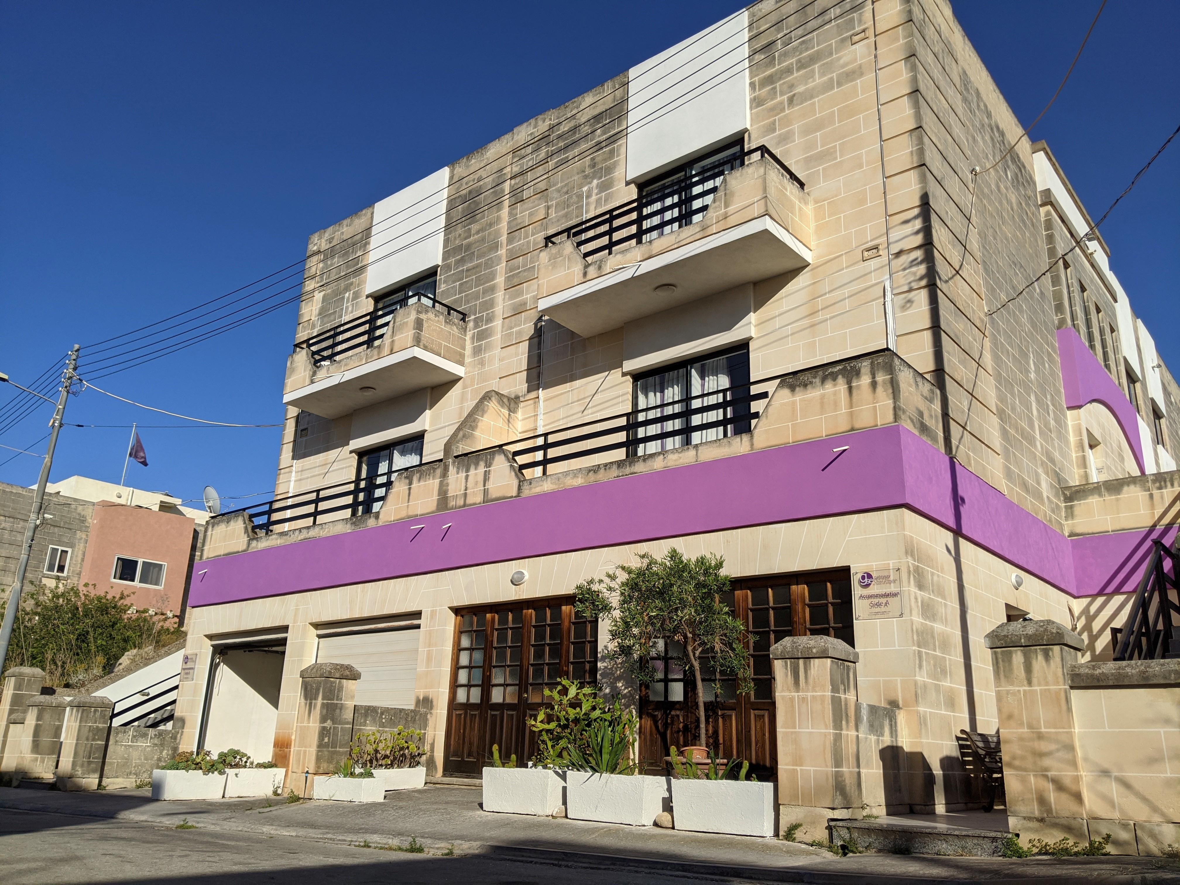 la résidence scolaire anglaise où les étudiants qui étudient l'anglais à malte peuvent vivre appelée résidence GSE Gateway