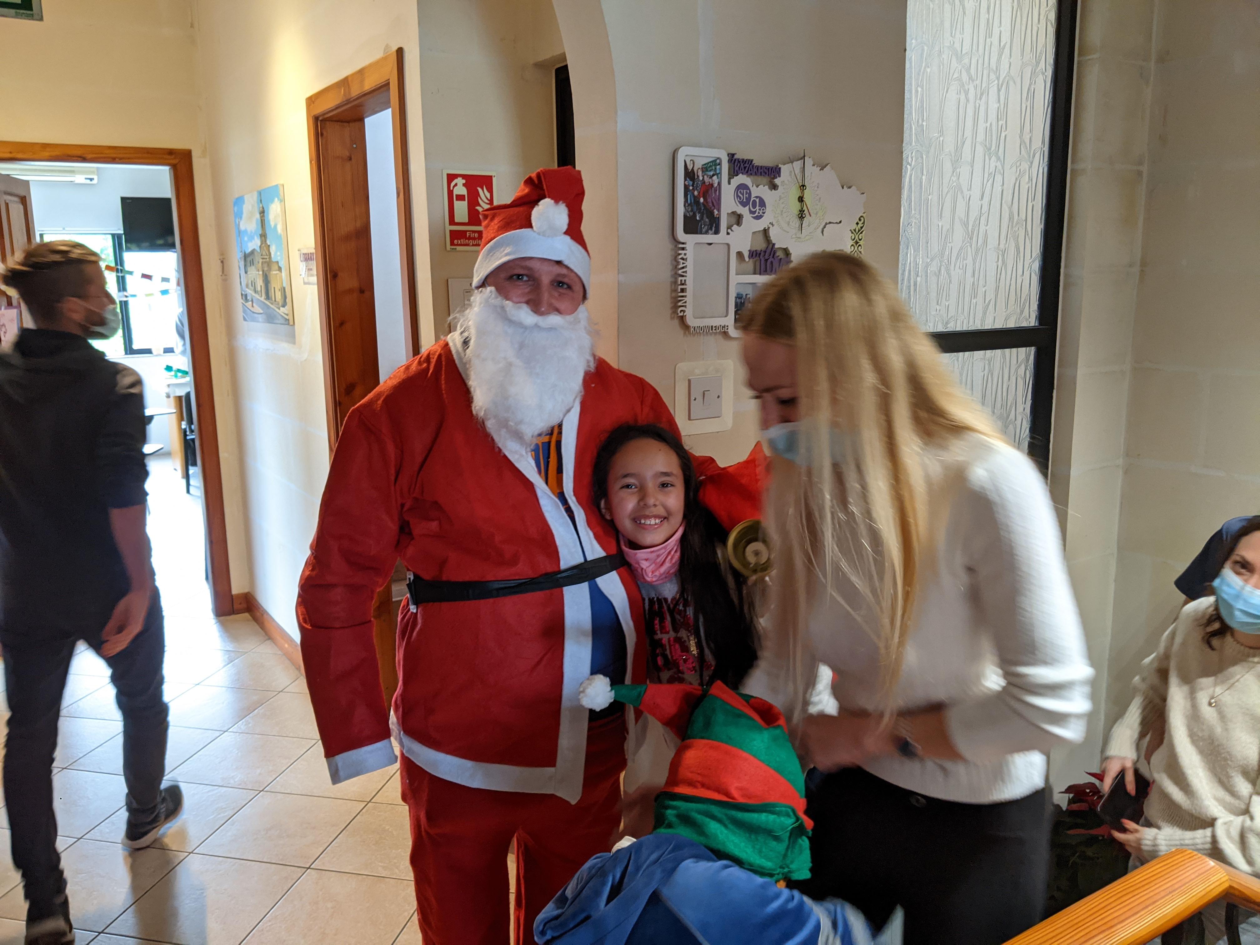 изучение английского во время Рождества на Мальте в школе английского языка Gateway