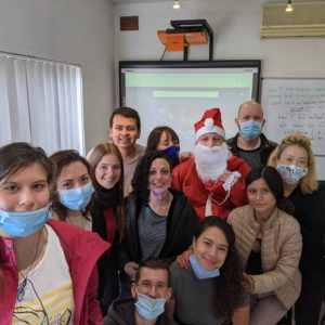 Christmas at Gateway a magical time for our students studying English with us in Malta