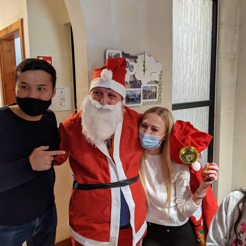 estudiar inglés durante la Navidad en Malta en la escuela de inglés Gateway