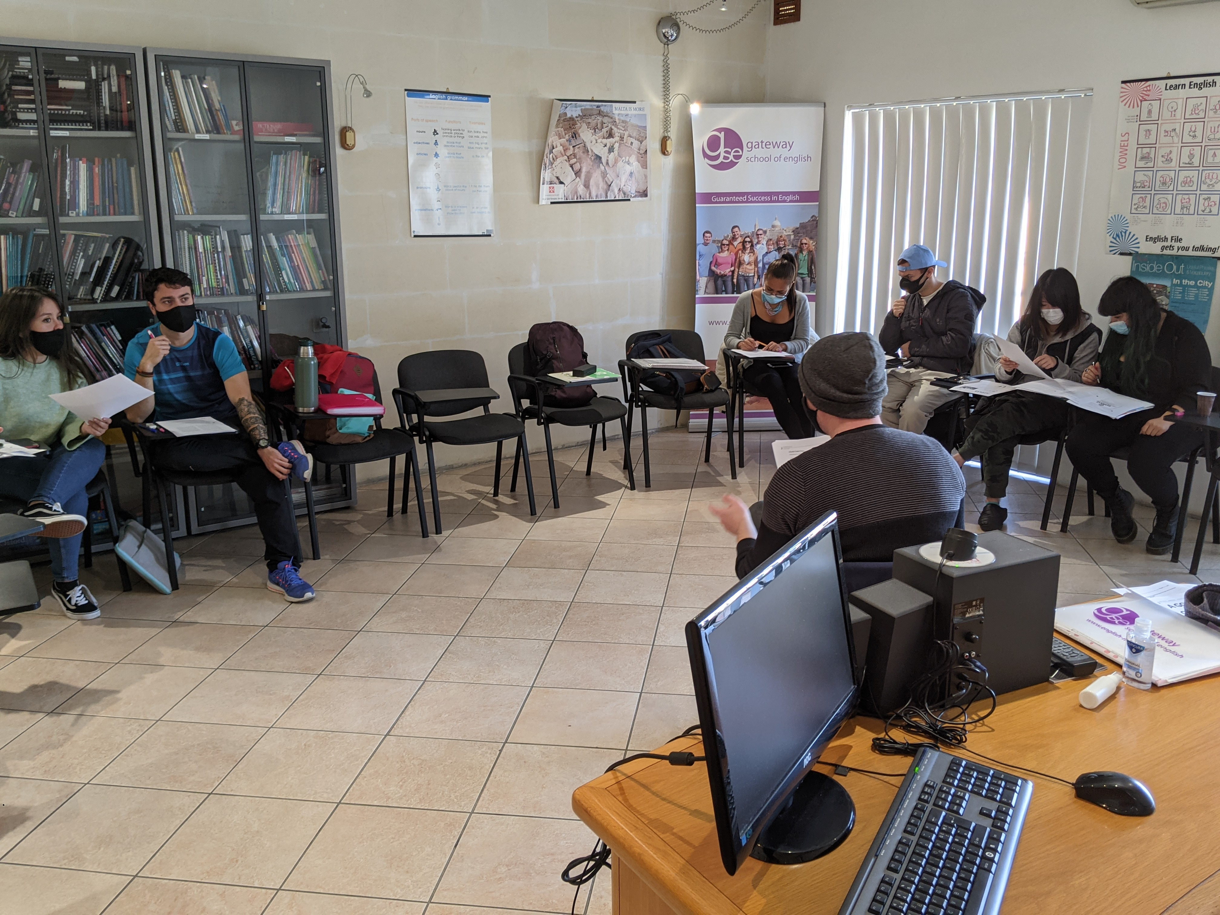 English courses in Malta with Gateway School of English GSE (2)
