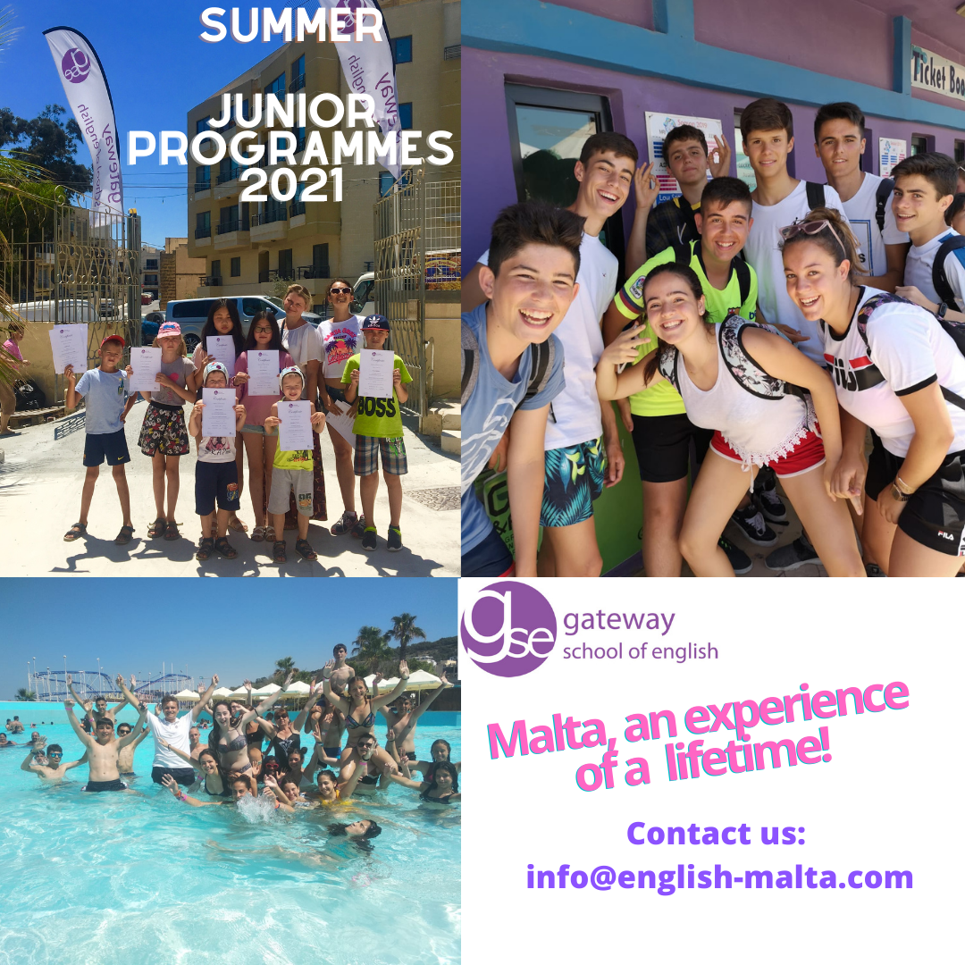 English courses in Summer 2021 for Juniors with Gateway School of English GSE